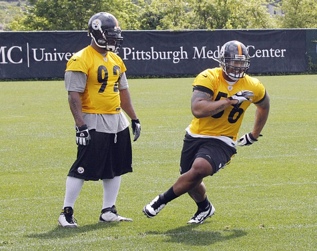Heraldstandard Highlights Steelers' Has First Spring com Sports Practice Several