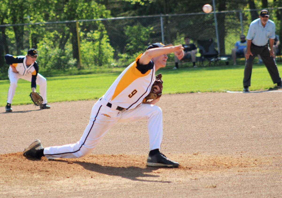 Pratt fires a pitch home