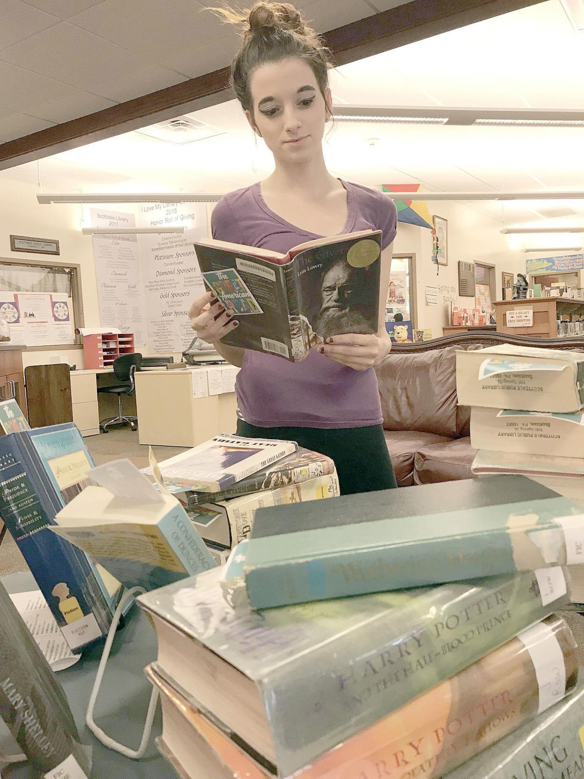 Local library is looking for volunteers to take up their challenge to read popular books