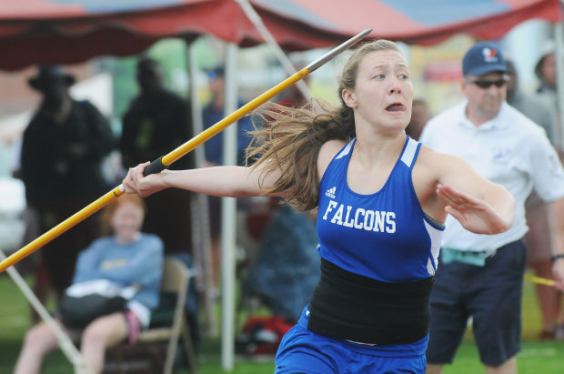 Wiltrout wins gold in javelin