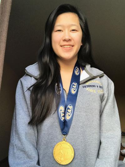 Vogt wins PIAA gold in diving