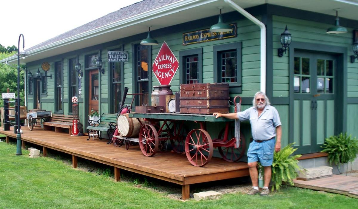 All Aboard: Millsboro man conducts backyard railroad museum