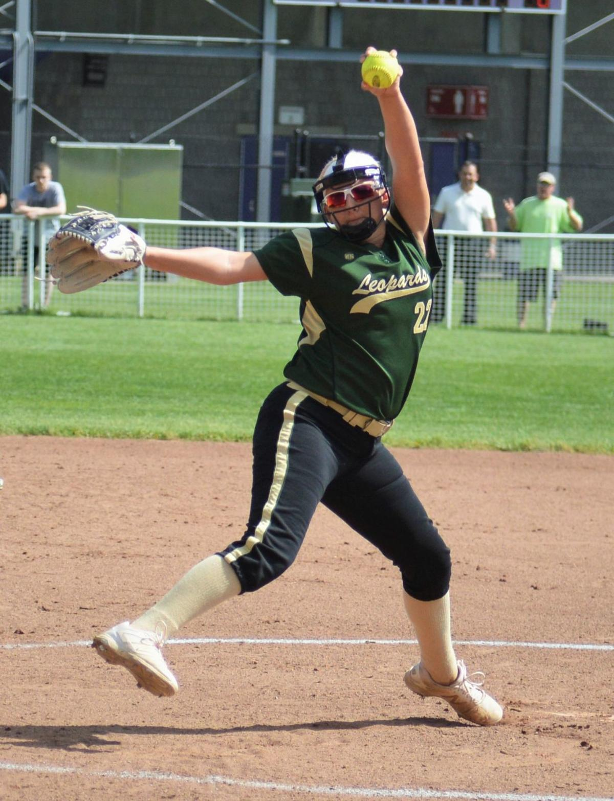 Parshall no-hits Mount Pleasant
