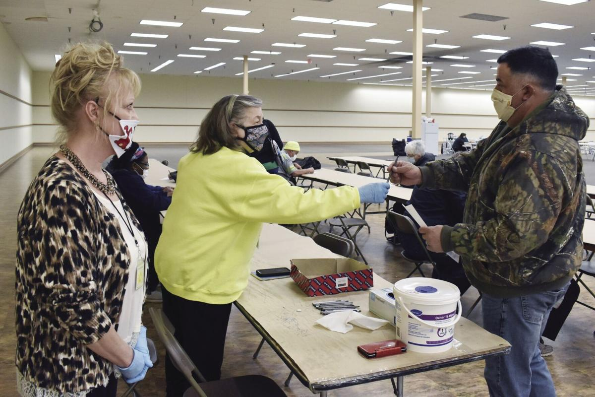 Clinic volunteers help bring vaccine taskforce closer to vaccinating whole county