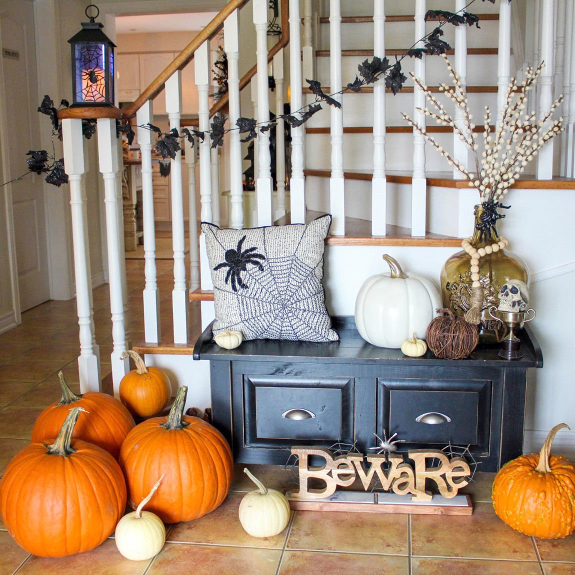 Halloween Home Design Ideas: That Thrilling Feeling: Decorating Homes For Halloween Is