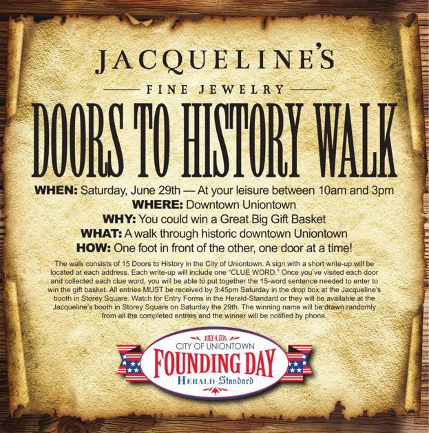 DOORS TO HISTORY WALK | | heraldstandard com