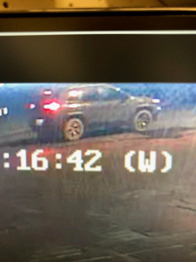 Circle K robbery vehicle