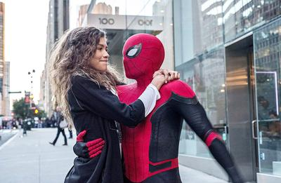 Spiderman makes his way into homes this week with 'Spiderman: Far From Home'