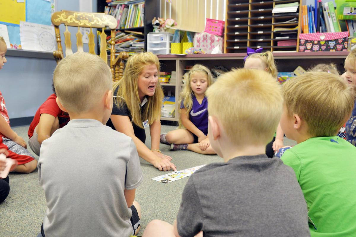 Children prepare for kindergarten at Friendship Hill, Masontown with Kinder Camp