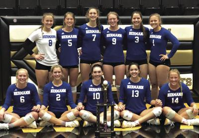 Hermann's volleyball Bearcats continue torrid winning streak on the road