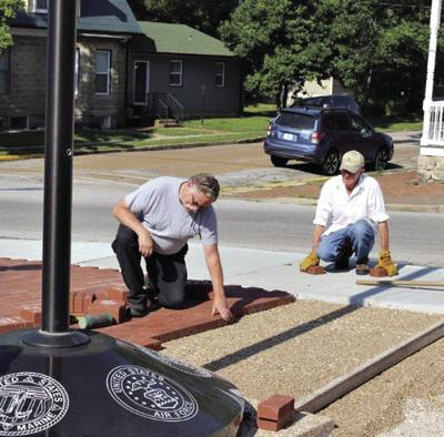 Pavers honoring military service installed at Veterans Park