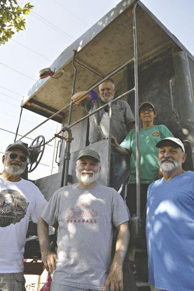 Hermann's Caboose gets a new paint job