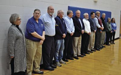 HHS Class of 1970 State basketball champs honored
