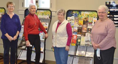 Four ladies say goodbye to Welcome Center duties