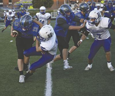 Bearcats shake up South Callaway for 40-27 victory
