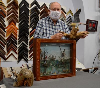 Woodcarver built up fan base over years