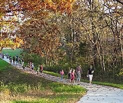 R-1 board hears walking trail report