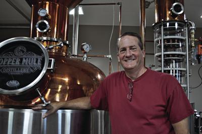 Hermann's Copper Mule Distillery opens
