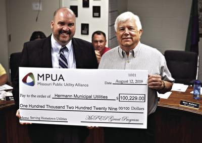 Hermann receives MoPEP grant for electric company upgrades