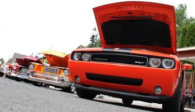 Car show revs up community support