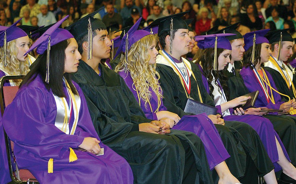 Commencement an honor for HHS grads