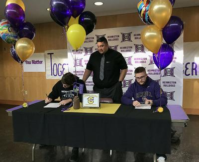 Two Bulldogs sign with Carroll College