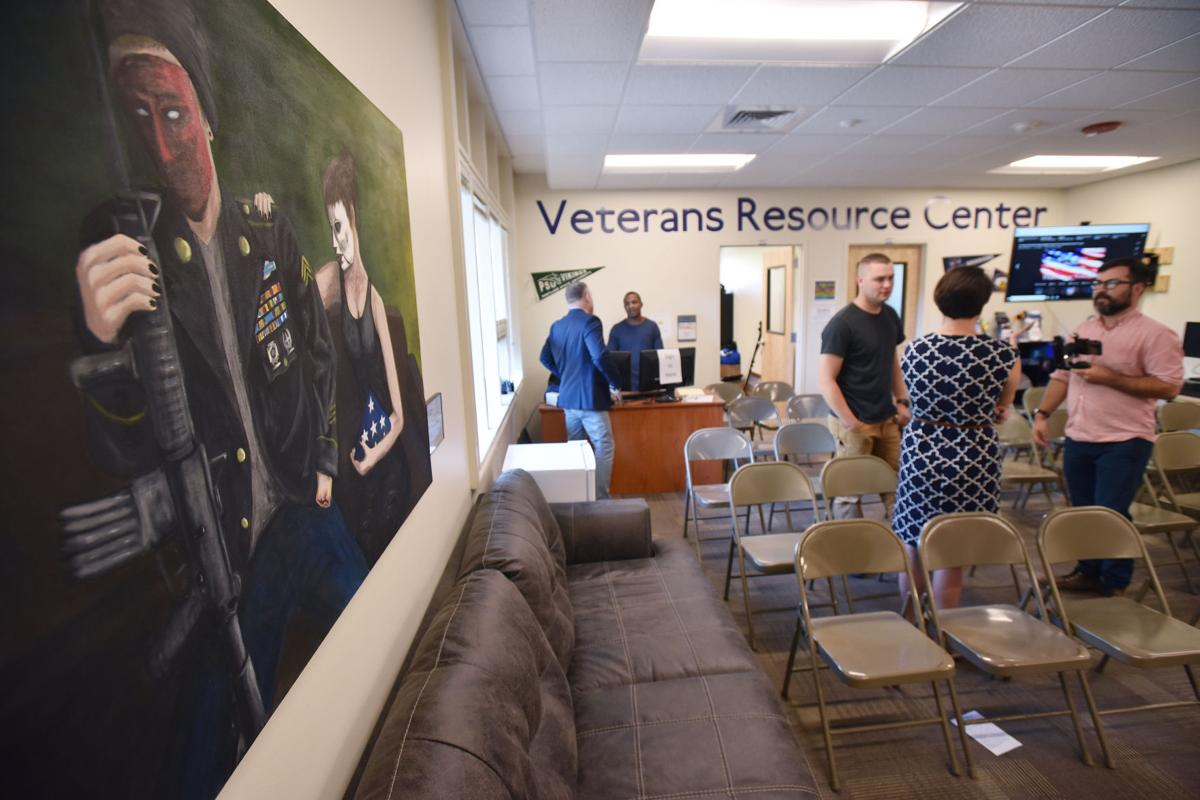 BMCC provides vets with a space of their own