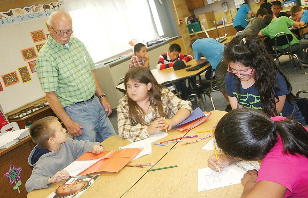 Substitute celebrates 80th birthday, continues teaching