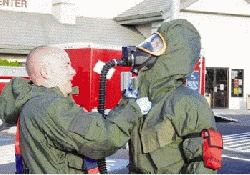 EMERGENCY PERSONNEL PUT TO THE TEST