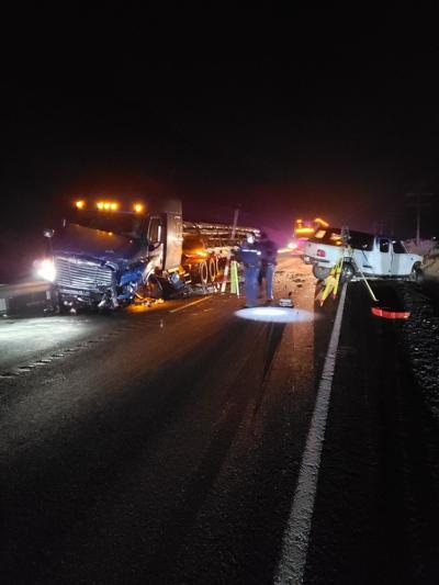 One dead in Highway 730 crash