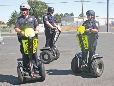 Hermiston PD takes test drive on two wheels