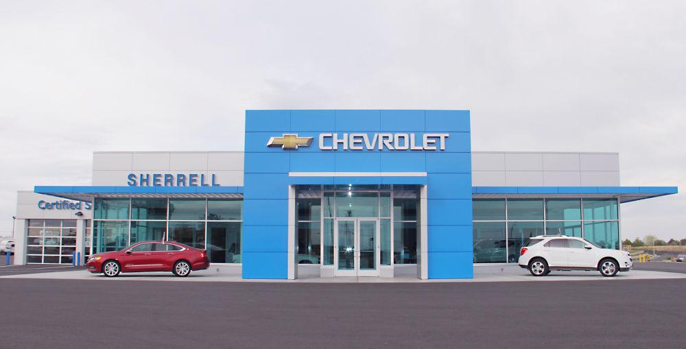sherrell chevrolet cuts ribbon at new location news hermistonherald com sherrell chevrolet cuts ribbon at new