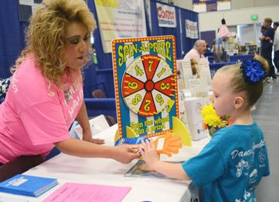 Family Health and Fitness Day draws thousands