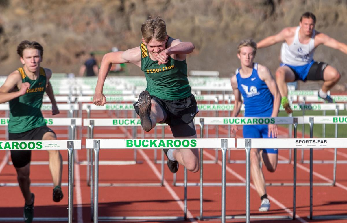 Prep roundup | Maher, House win big for Pendleton at the Buck Track Classic