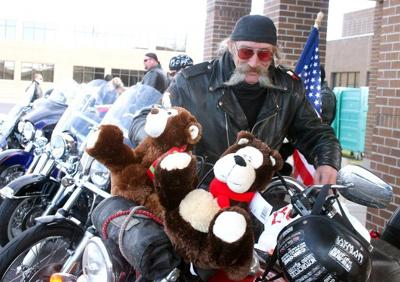 Harley ho, ho, ho: Echo Toy Run breaks record