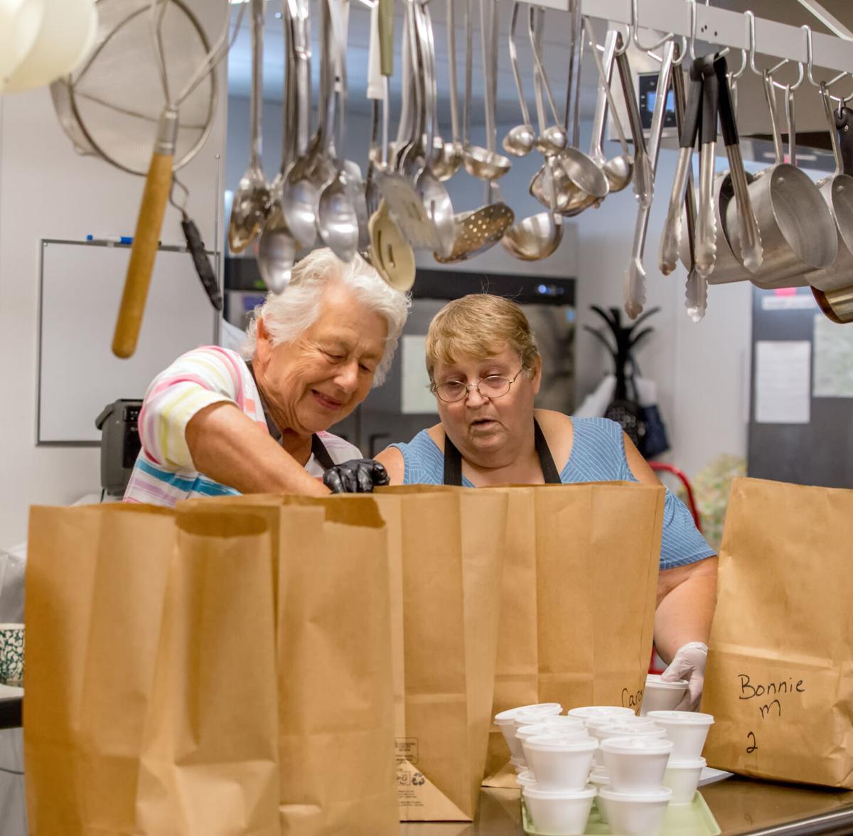 Senior center still serving seniors during shutdown