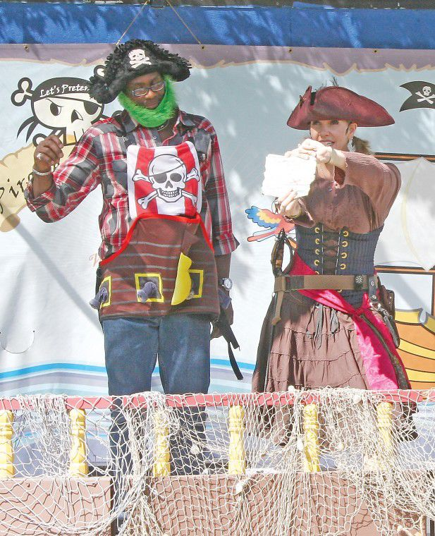 Pirate play delights at fair