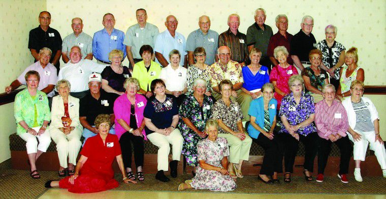 Hermiston High School classes of 1950 and 1955 hold reunions