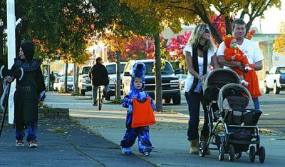 Family fun in downtown