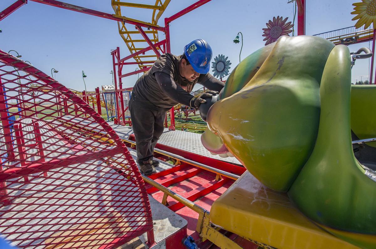 Umatilla County Fair Set Up