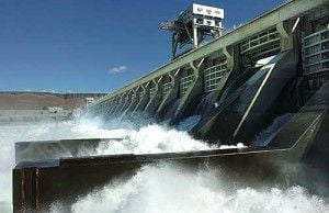 McNary Dam shows guts