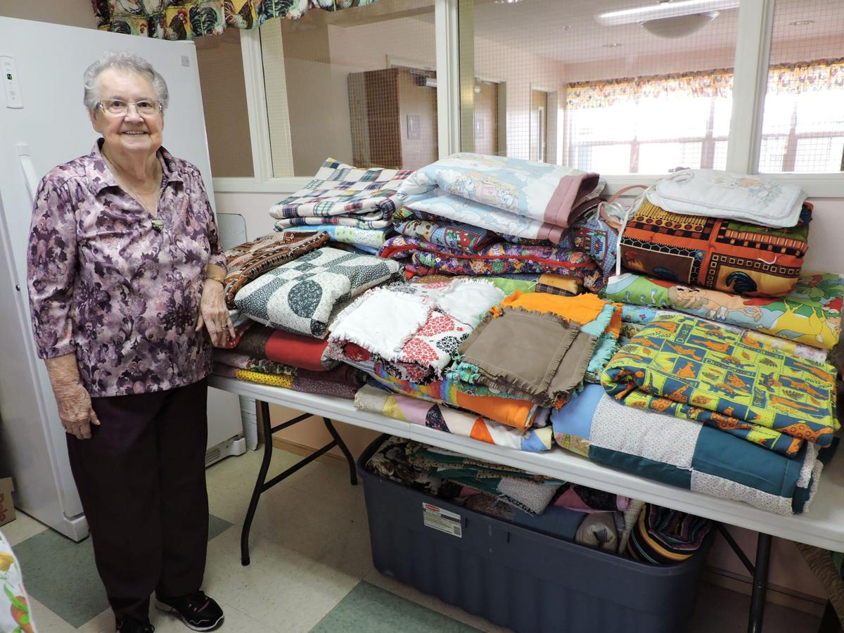 Giver gets a gift of her own