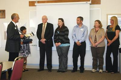 School district business office wins award