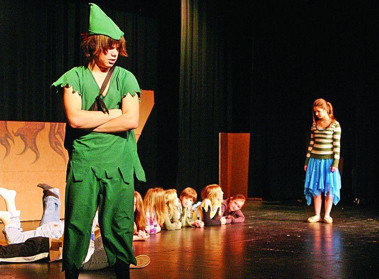 Peter Pan, Captain Hook coming to Hermiston