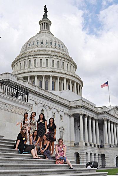 Generation College students visit D.C.