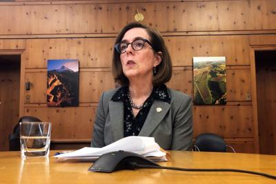 Oregon governor signals she may veto one bill and line-item veto 3 spending provisions