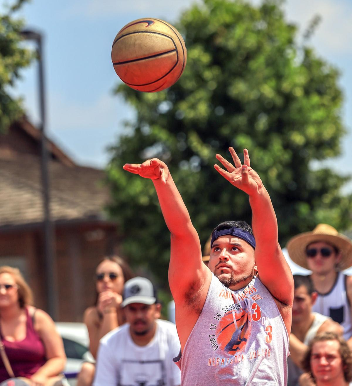 Stanfield team take 3-on-3 title