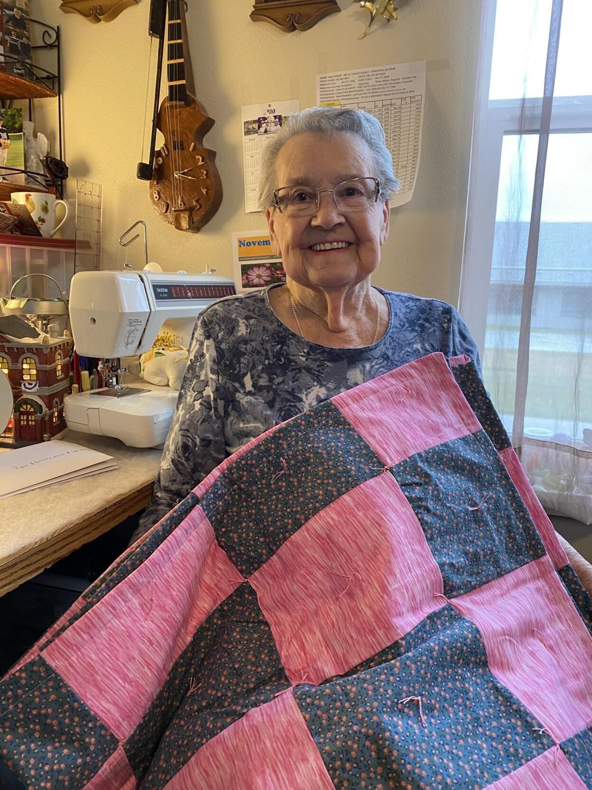 Hermiston woman, 90, turns out quilts for Christmas Express | Community |  hermistonherald.com