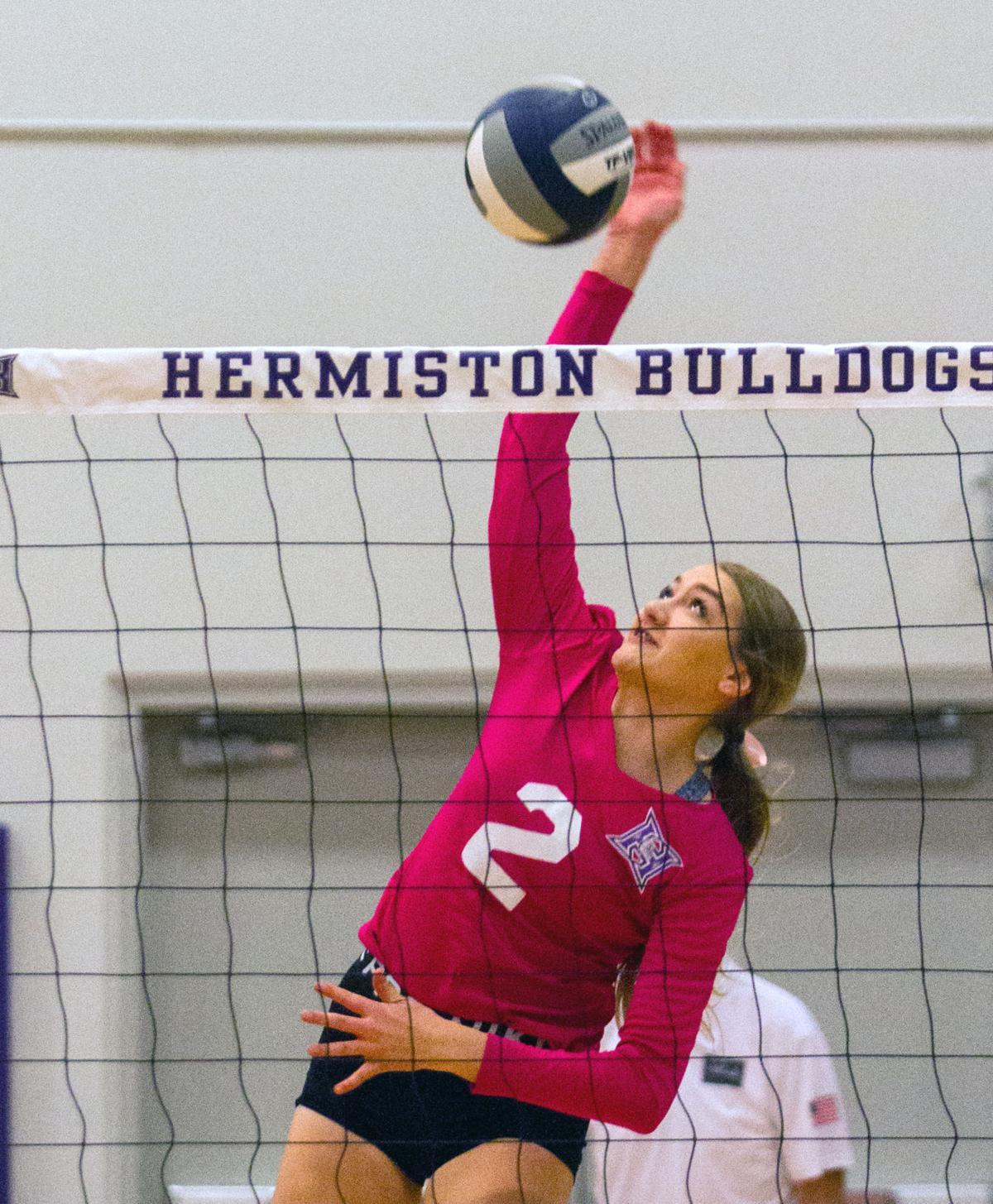 Hermiston Pasco volleyball