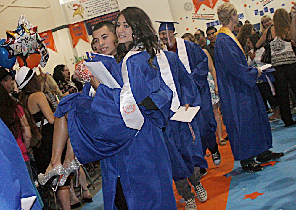 Umatilla High graduates class of firsts